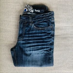 KENNETH COLE REACTION DISTRESSED JEANS